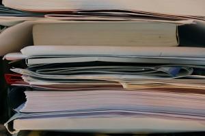 Documentos apilados